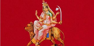 navratri-maa-katyayani-puja-vidhi-mantra-hindi